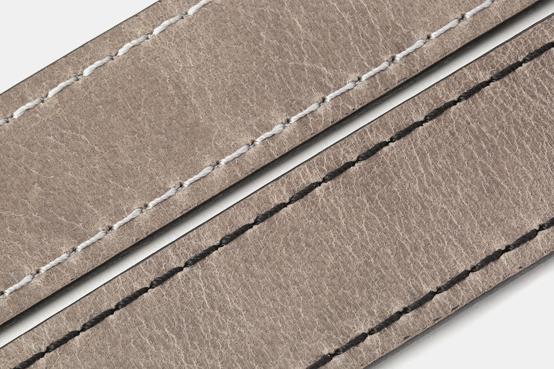 Orion Buffalo Leather Belt