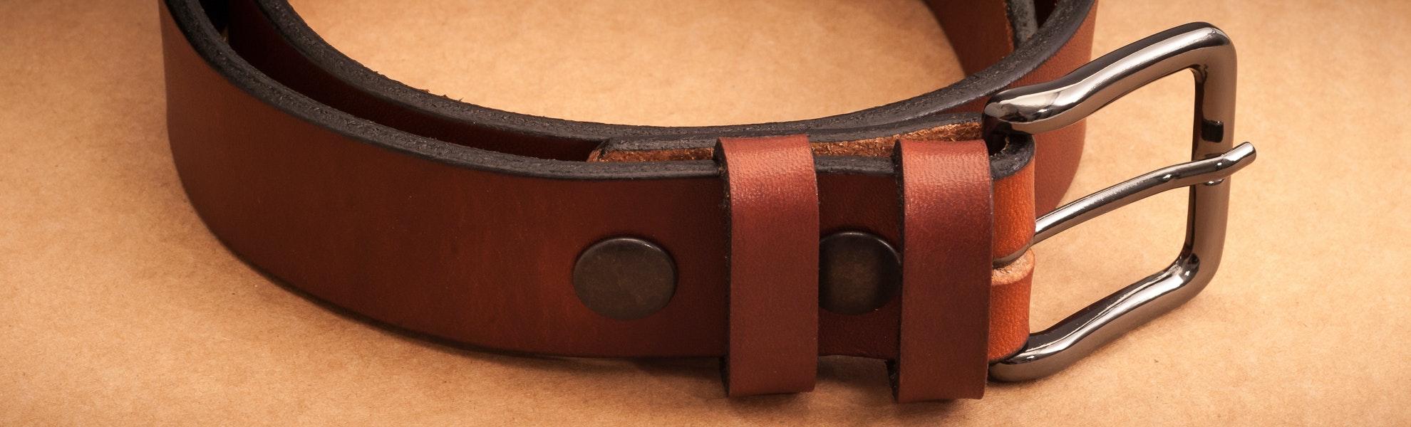 Orion Tan 35mm Latigo Belt