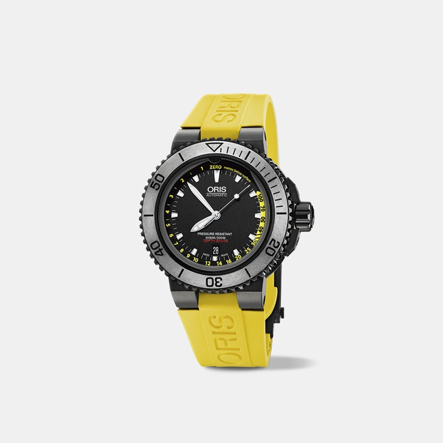 28ab0fcca Oris Aquis Depth Gauge Automatic Watch | Price & Reviews | Drop (formerly  Massdrop)