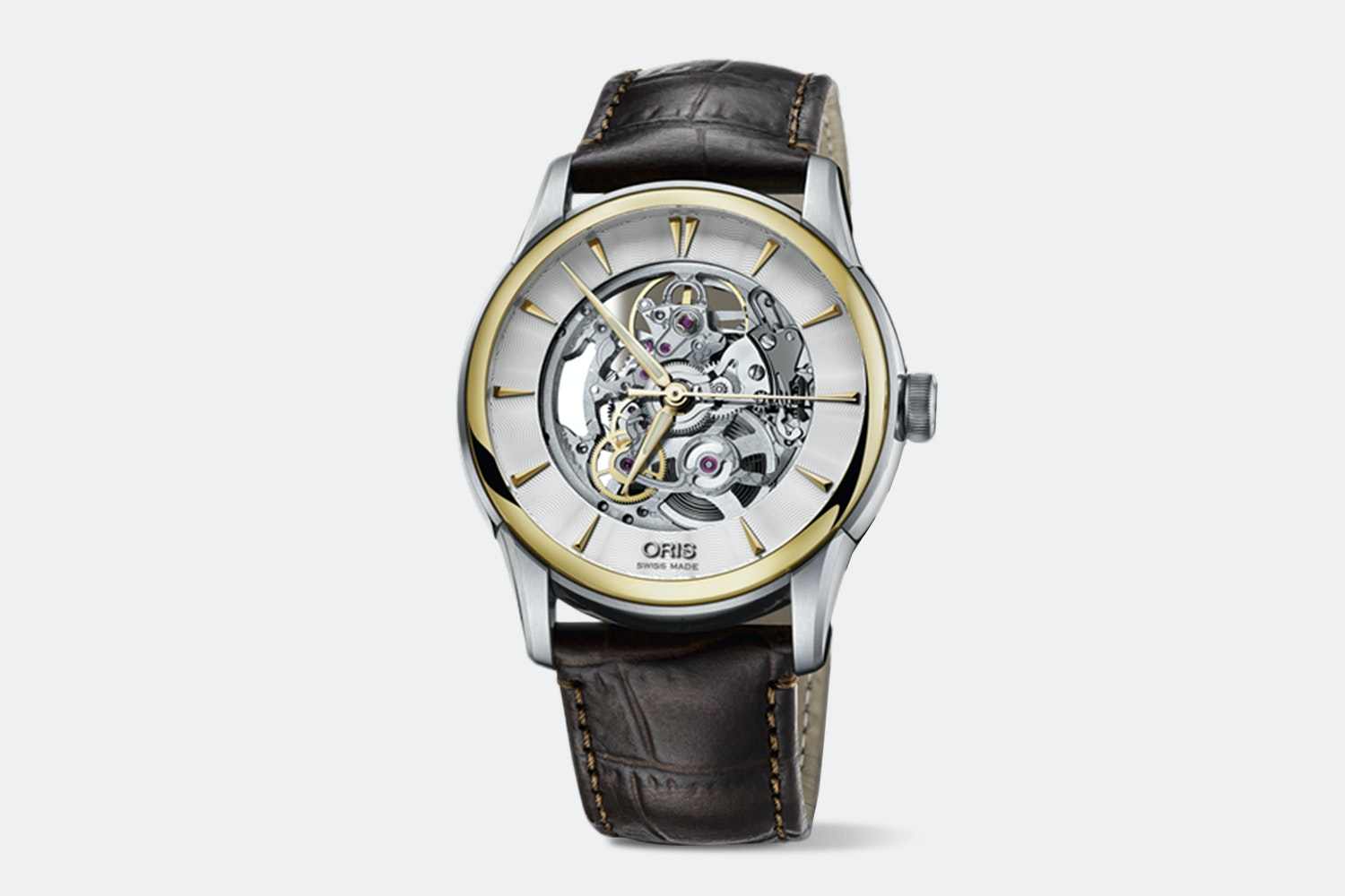 Oris Artelier Translucent Skeleton Automatic Watch
