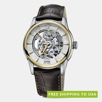 Oris Artelier Translucent Skeleton Automatic Watch