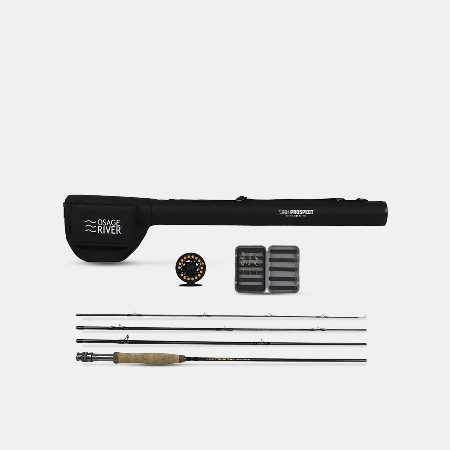Osage River Prospect Complete Fly Fishing Package