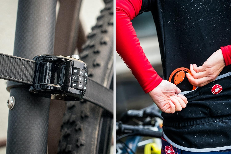 """OTTOLOCK 30"""" Bike/Gear Lock & Mount"""