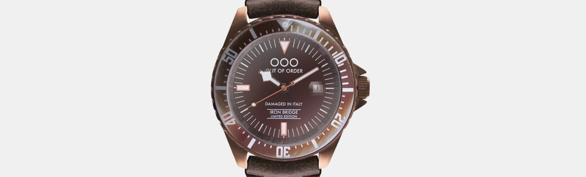 Out of Order Iron Bridge Automatic Watch