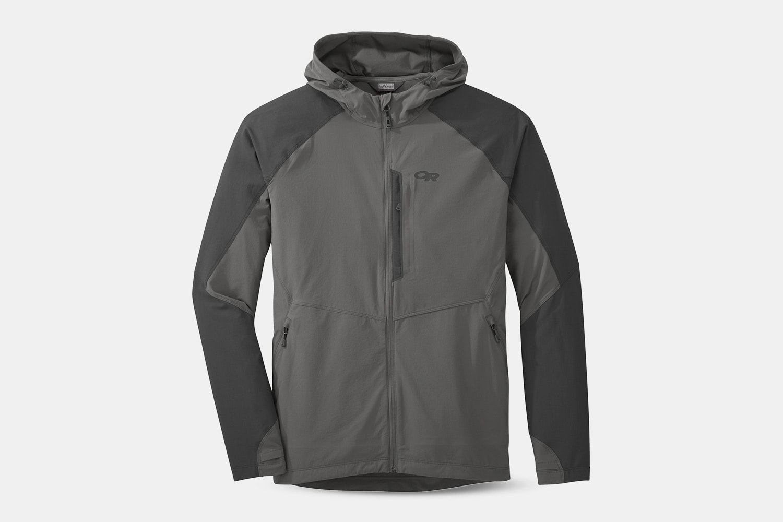 Men's – Ferrosi Hooded Jacket – Pewter/Storm