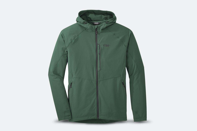 Men's – Ferrosi Hooded Jacket – Hemlock