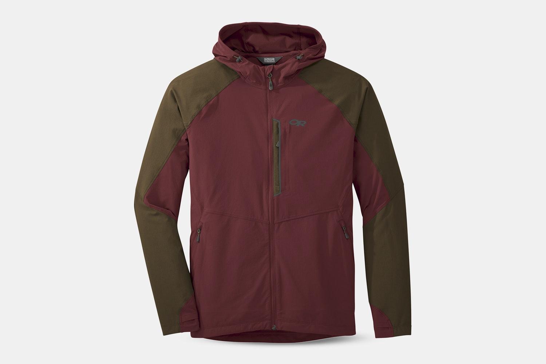Men's – Ferrosi Hooded Jacket – Firebrick/Carob