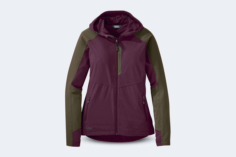 Women's – Ferrosi Hooded Jacket – Garnet