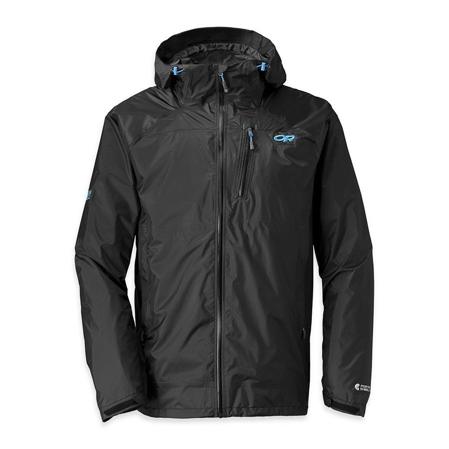 Men's Helium HD Jacket: black/hydro