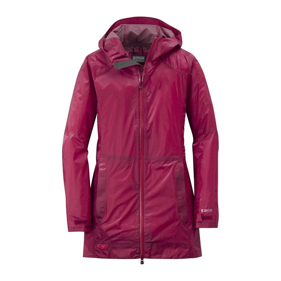 Women's Helium Traveler Jacket: scarlet (- $10)