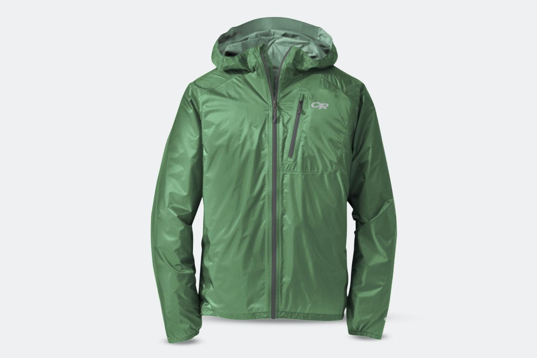 Men's Helium II Jacket - Aloe/Charcoal