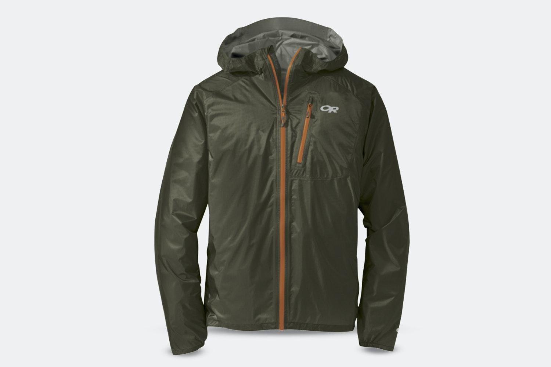 Men's Helium II Jacket - Fatigue/Ember