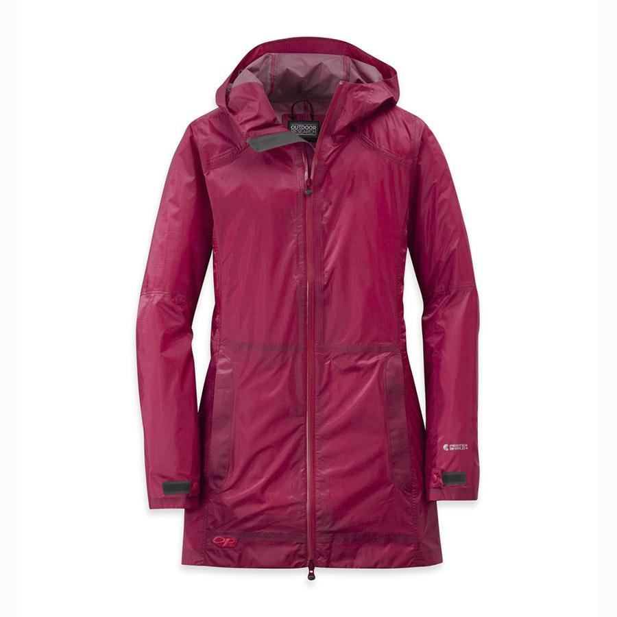 Helium Traveler jacket, Scarlet