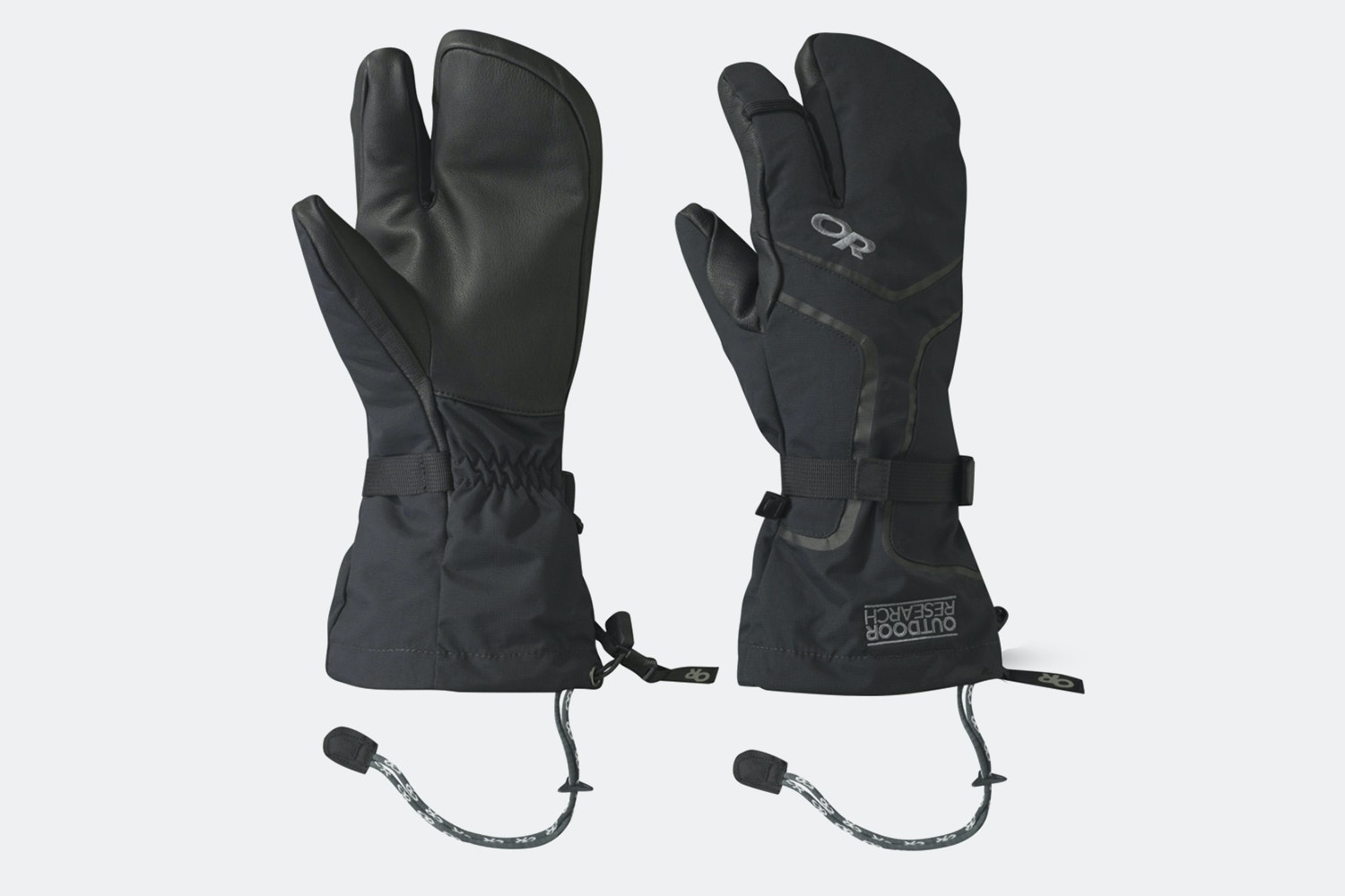 Men's – Highcamp 3-Finger Gloves – Black