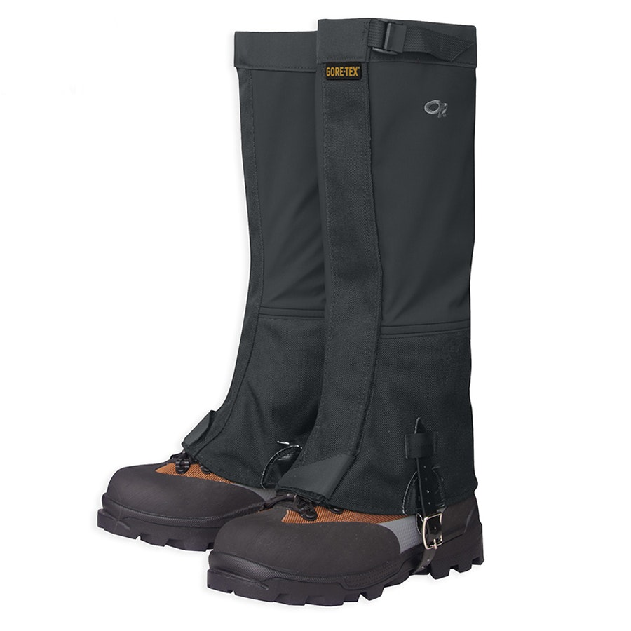 Women's Crocodile Gaiters, Black (+ $11)