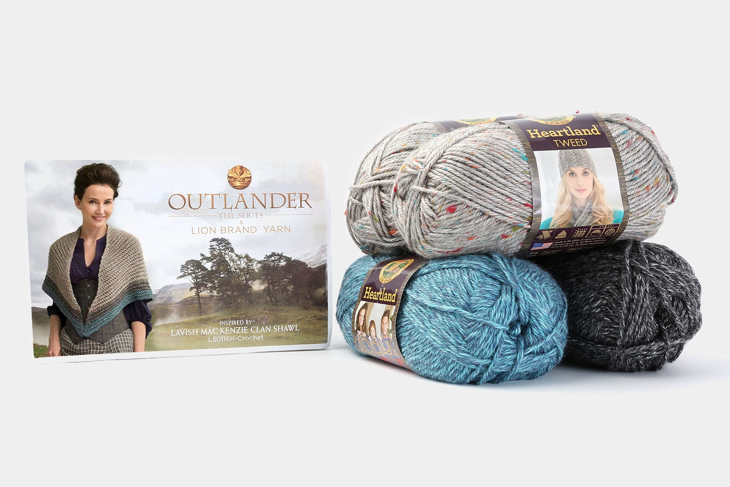 Lavish MacKenzie Clan Shawl crochet kit