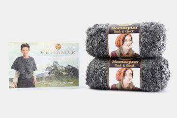 Return to Inverness Cowl knitting kit (- $2)