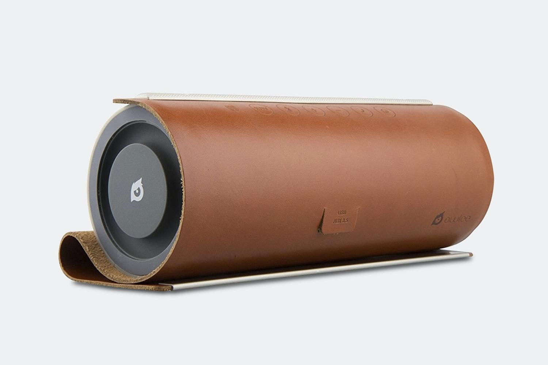 Owlee Scroll Premium Leather Bluetooth Speaker
