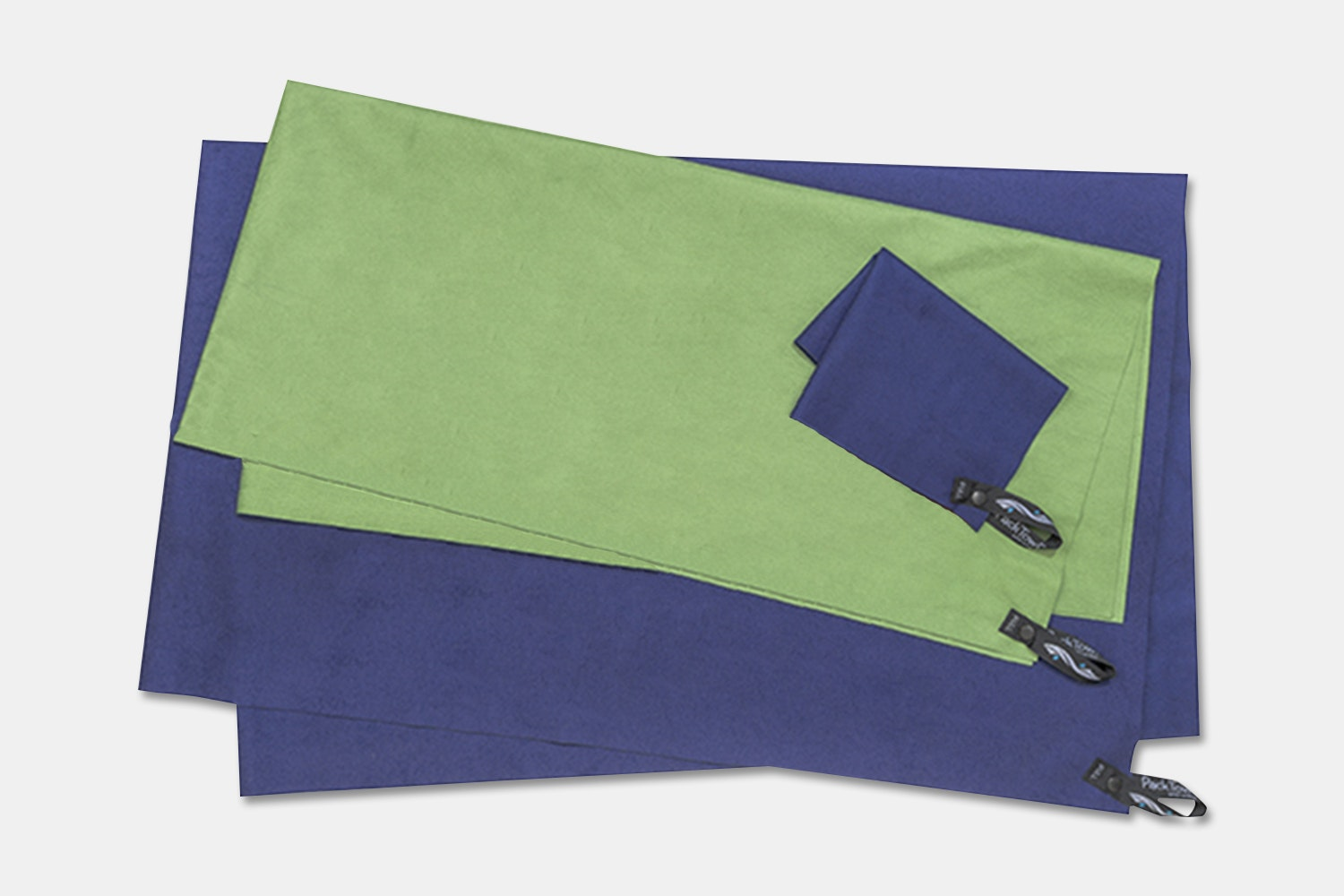 PackTowl Ultralite Body Towel Lichen Green Compact Quick Drying Pack Towel