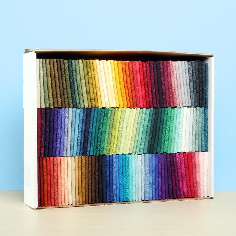 Palette by Jinny Beyer Fat Quarter Box Set