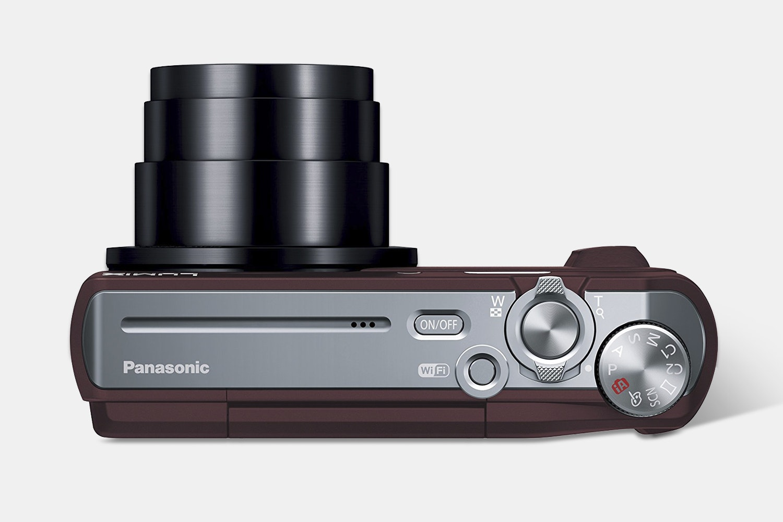 Panasonic Lumix DMC-ZS45 Digital Camera (Brown)
