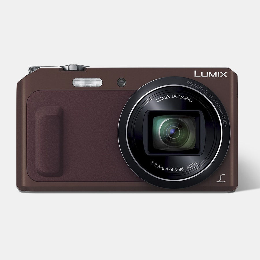 Panasonic Lumix DMC-ZS45 Digital Camera (Brown)