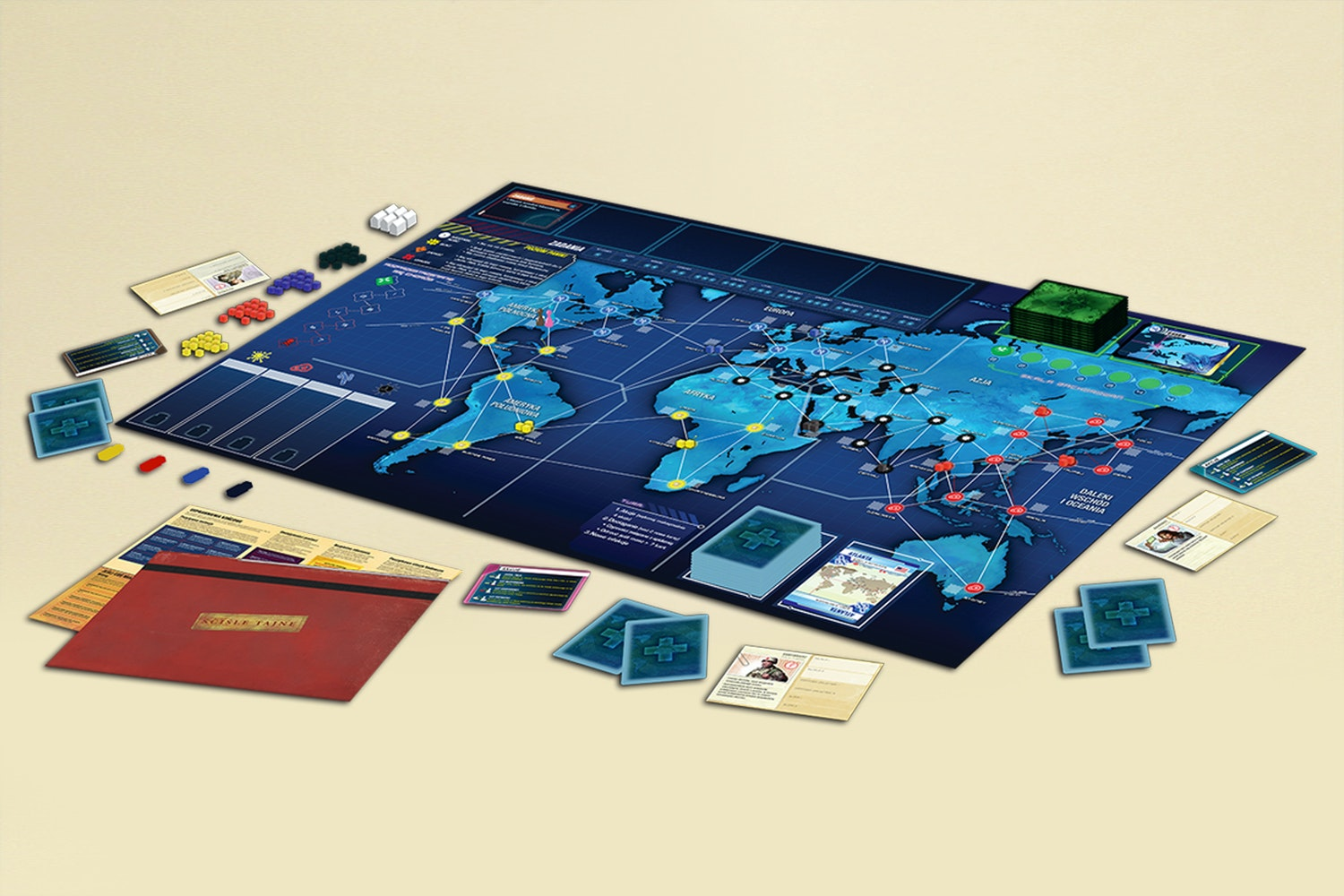 Pandemic Legacy Bundle: Red and Blue Season 1