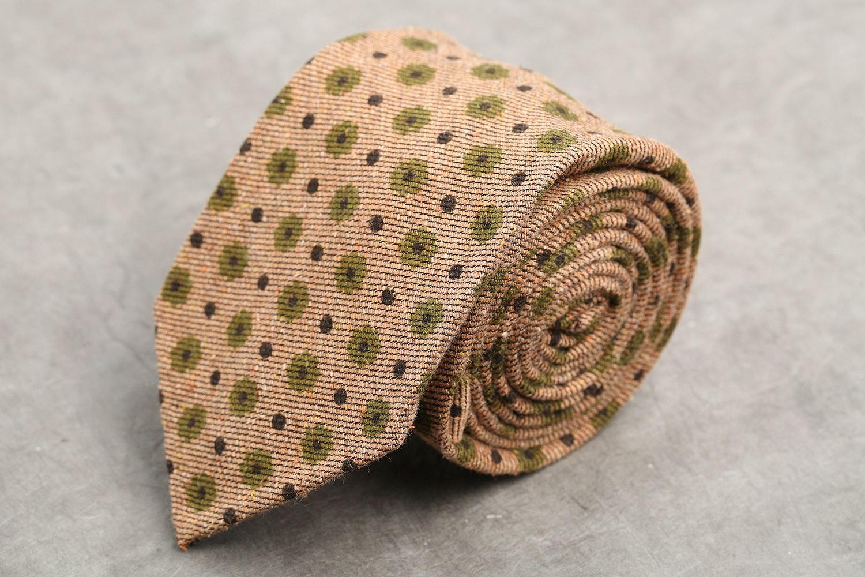 Panta Cotton-Silk Tie