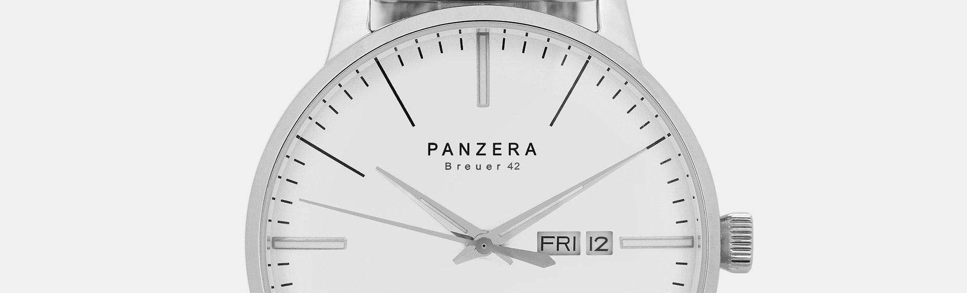 Panzera Breuer 42 Automatic Watch
