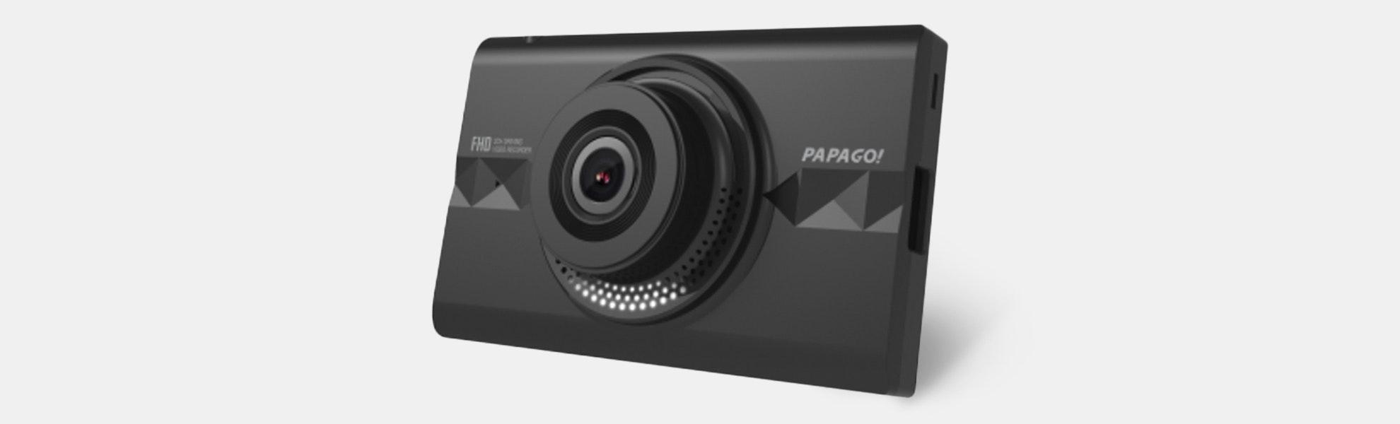 Papago GoSafe 366 1080p Wi-Fi Dash Cam w/ 16GB Card