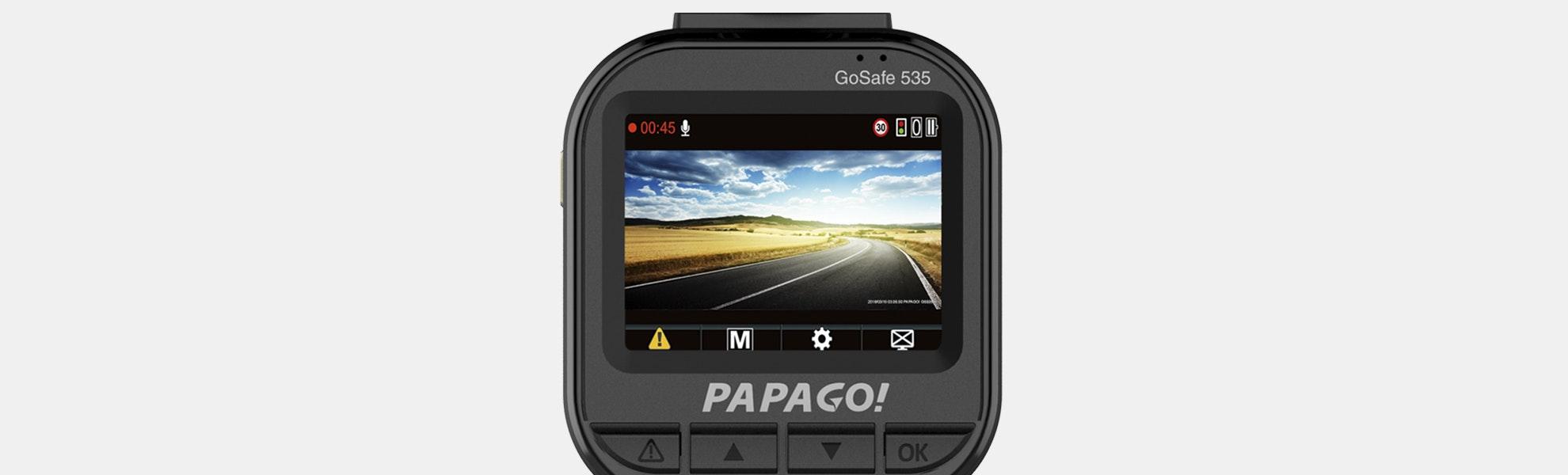 Papago GoSafe 535 Dash Cam w/ 8GB SD Card
