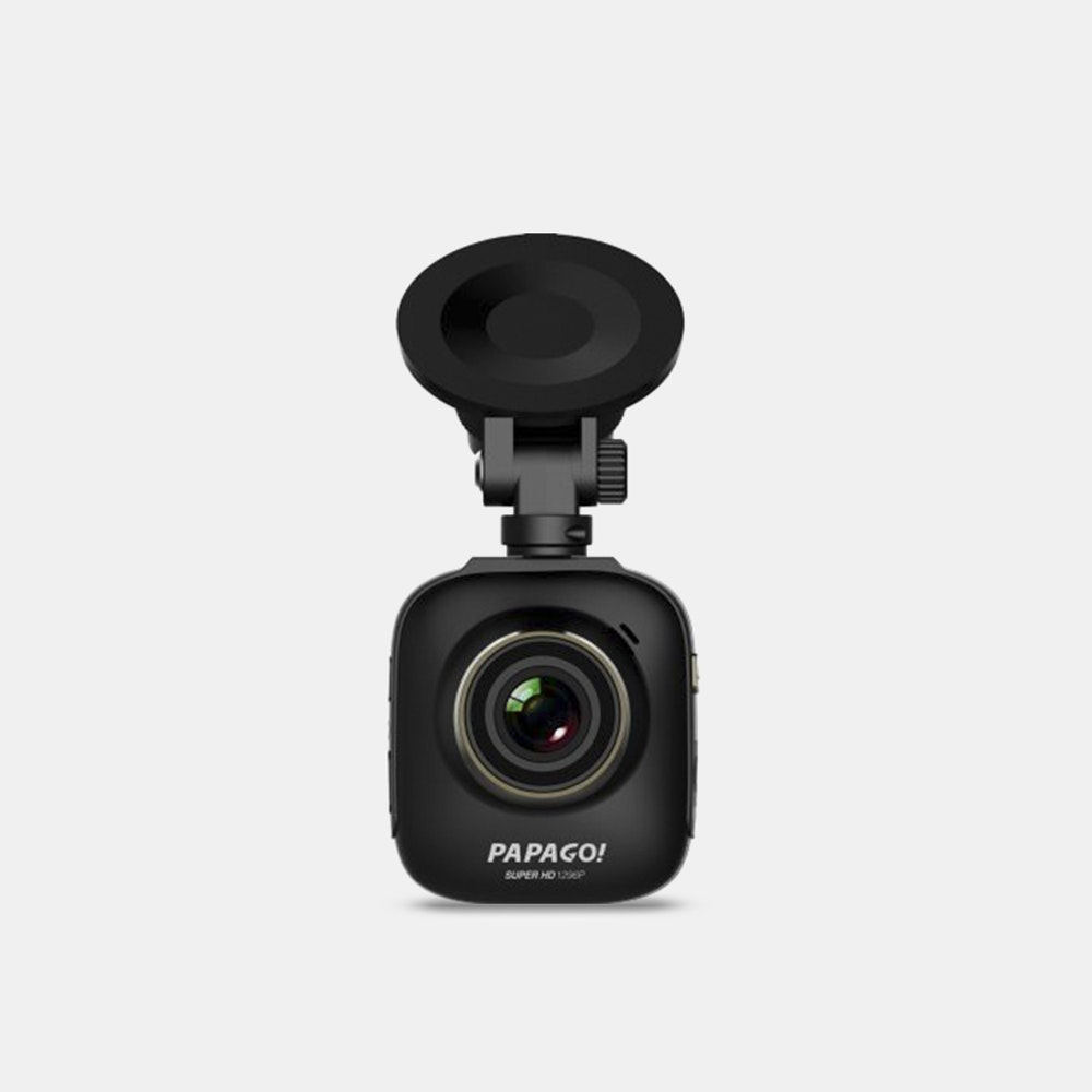 Papago GoSafe S36 Dash Camera Compact Build With a Wide Field of View -- If size were an indicator of strength, the Papago GoSafe S36 would be in trouble. But luckily it's not. One of the smallest dash cams on the market, the S36 offers ultra-wide-angle 1296p Super HD footage and a host of features to protect you at the wheel--like a driver fatigue alarm, a headlight reminder, and stop sign recognition. If you do capture something worth sharing, you can do so instantly thanks to the OTG cable. With support for micro SD cards up to 64GB, the dash cam can record for up to 12 hours without overwriting. Rounding out the device is its built-in G-sensor, which will record automatically and save footage when tripped--not to mention Papago will be including a lifetime of firmware updates, so the S36 will only get smarter going forward.