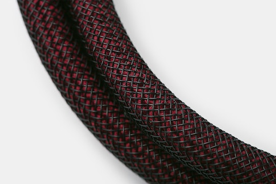 Paracord Techflex Sleeved USB Cable
