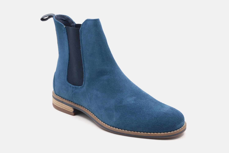 Azure Blue Suede