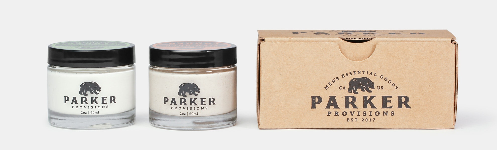 Parker Provisions Pomade Duo