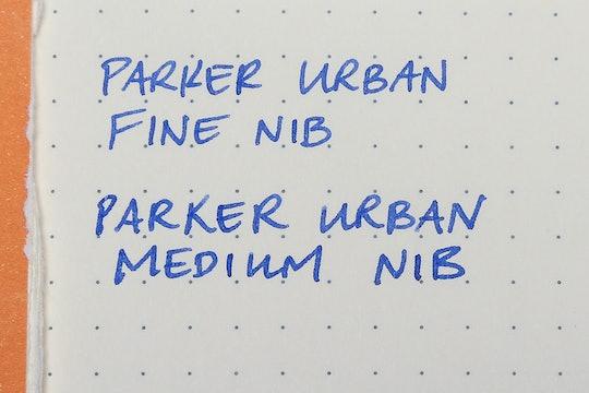 Parker Urban & Urban Premium Fountain Pens