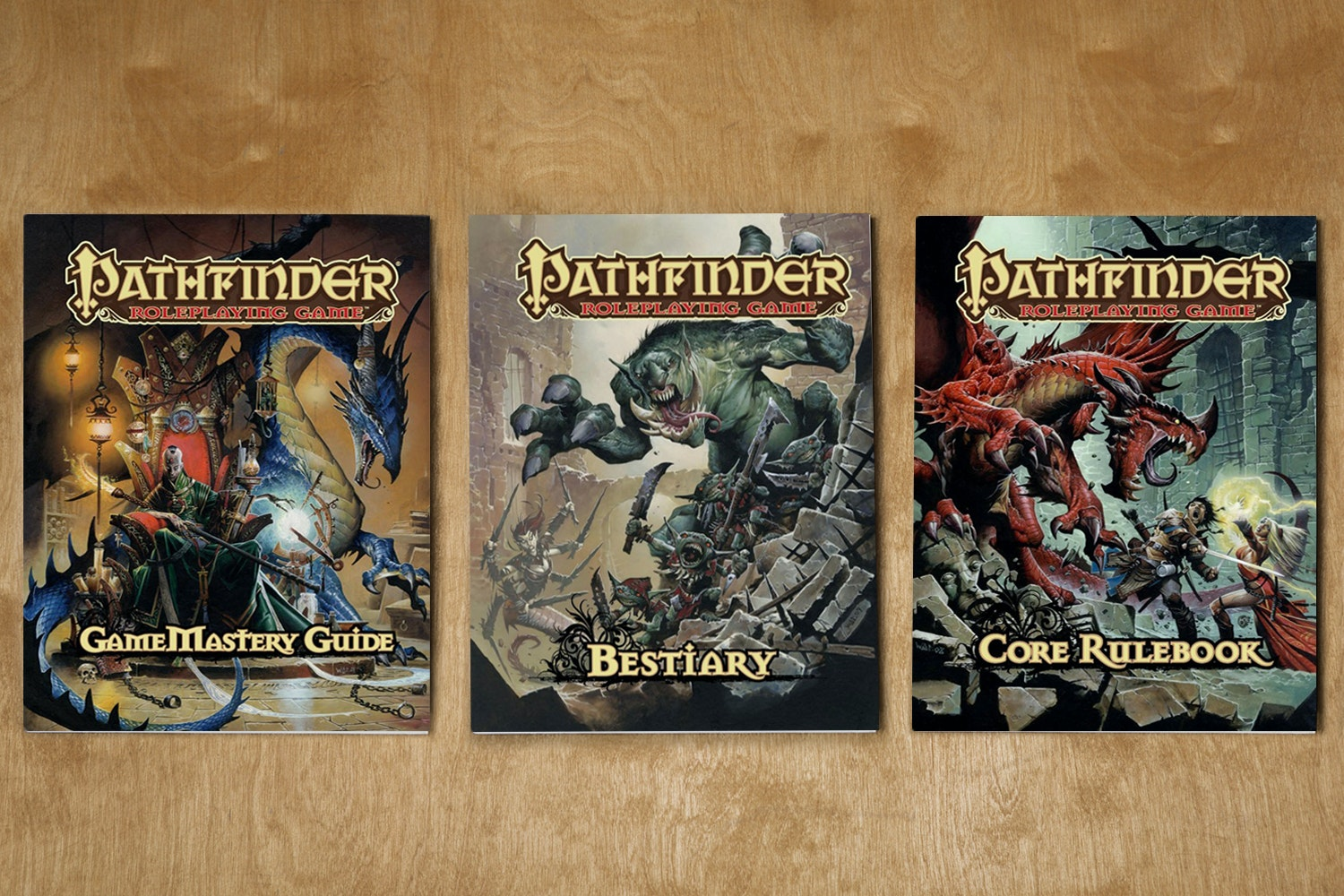 Pathfinder Roleplaying Book Bundle
