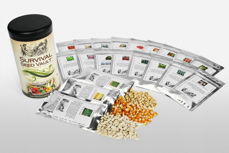 Patriot Seeds Heirloom Seed Vault & More