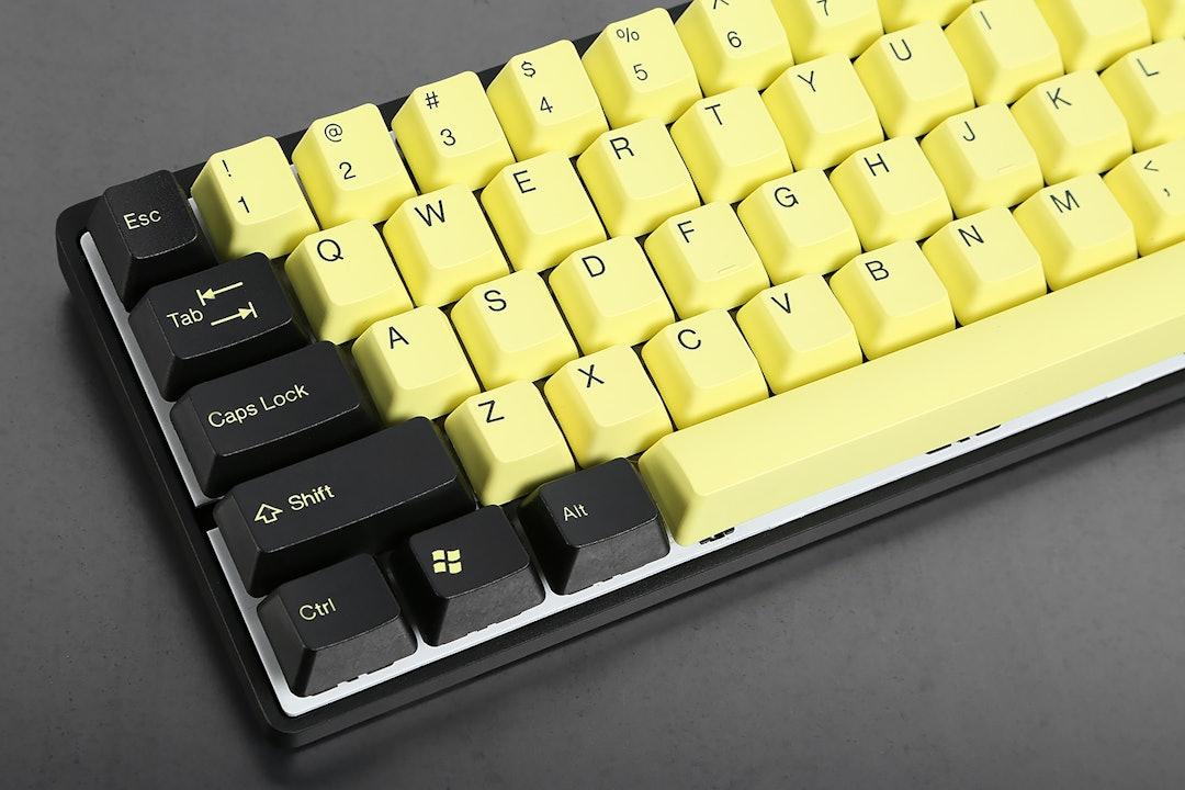 PBT Double-Shot Keycap Set - 5 Color Options