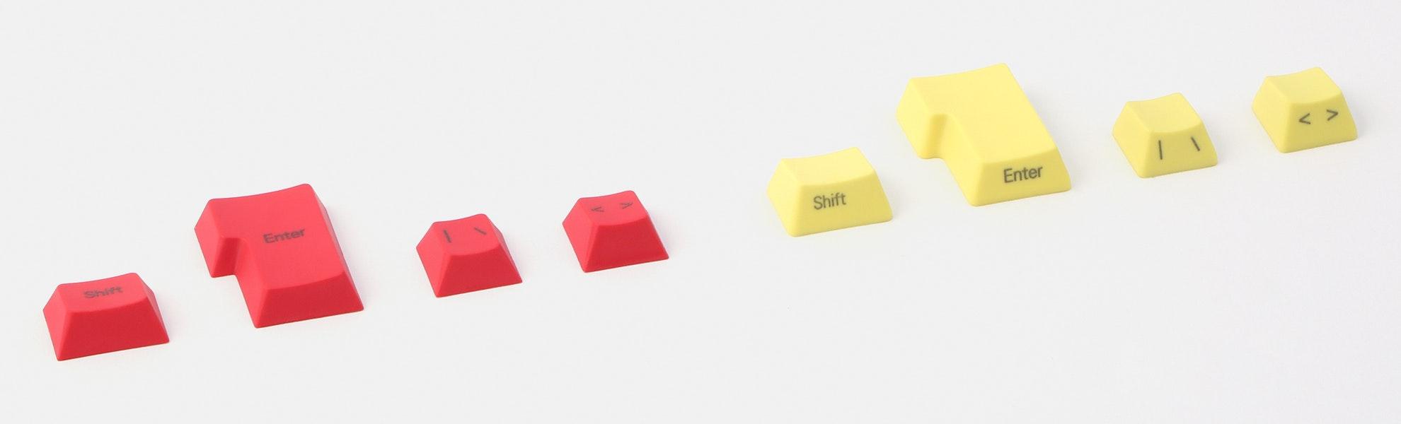 PBT ISO Keycaps Pack (4pcs)