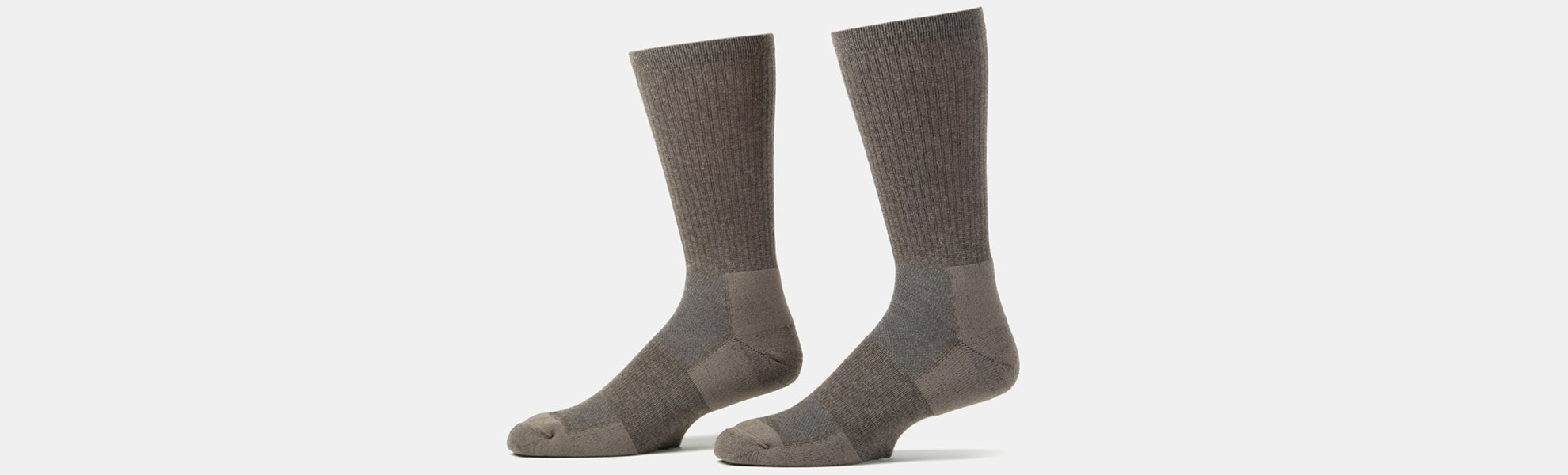 Peak to Plateau Yak Wool Trail Crew Socks