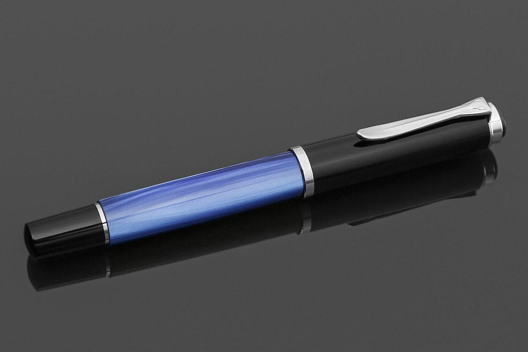 Pelikan Classic M205 Blue Marble Fountain Pen