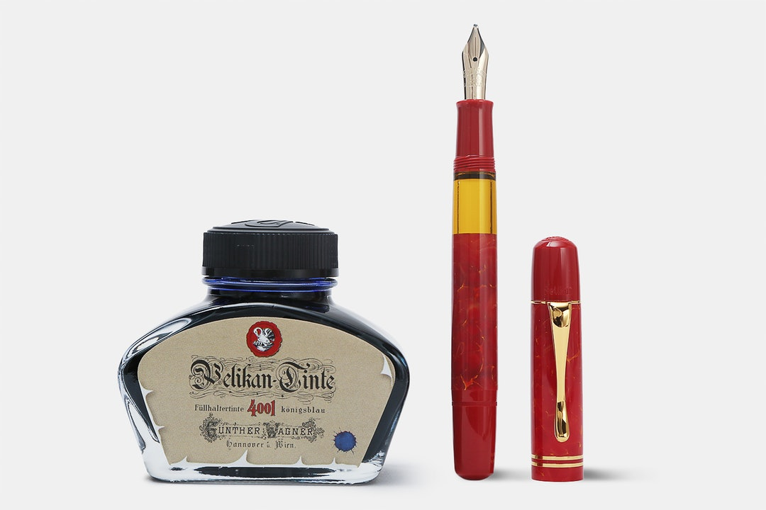 Pelikan Special-Edition M101N Bright Red