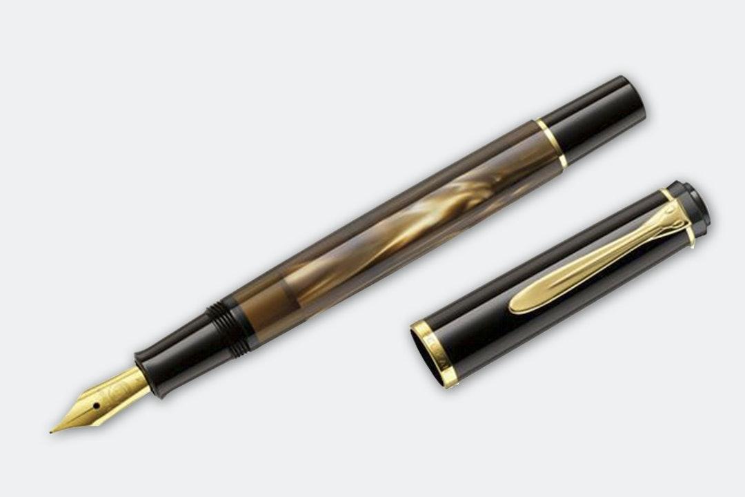 Pelikan M200 Brown Marble Fountain Pen