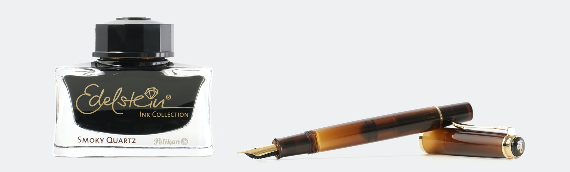 Pelikan M200 Smoky Quartz Special-Edition Set