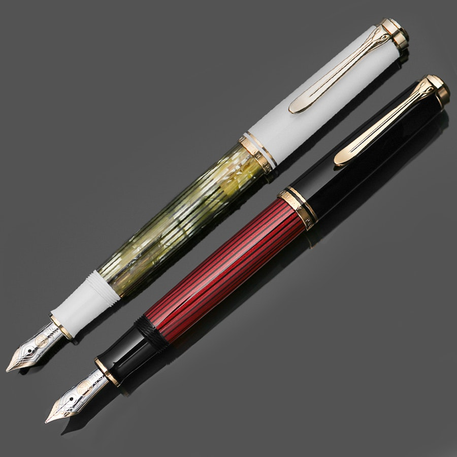 Pelikan Souveran M400 White and Red