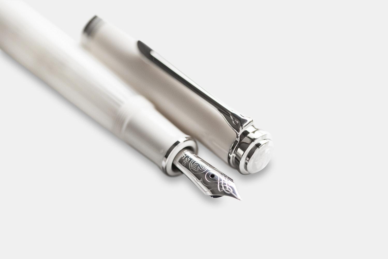 Pelikan M605 White-Transparent Fountain Pen