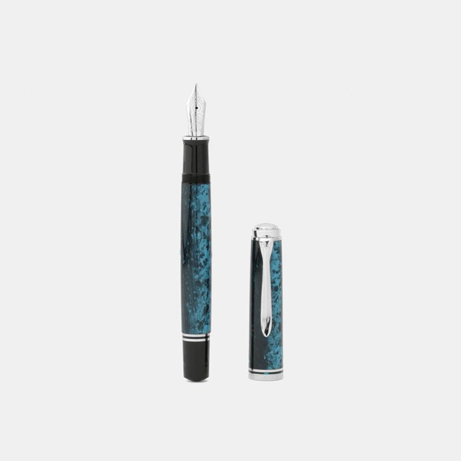 Pelikan Souverän M805 Ocean Swirl Fountain Pen