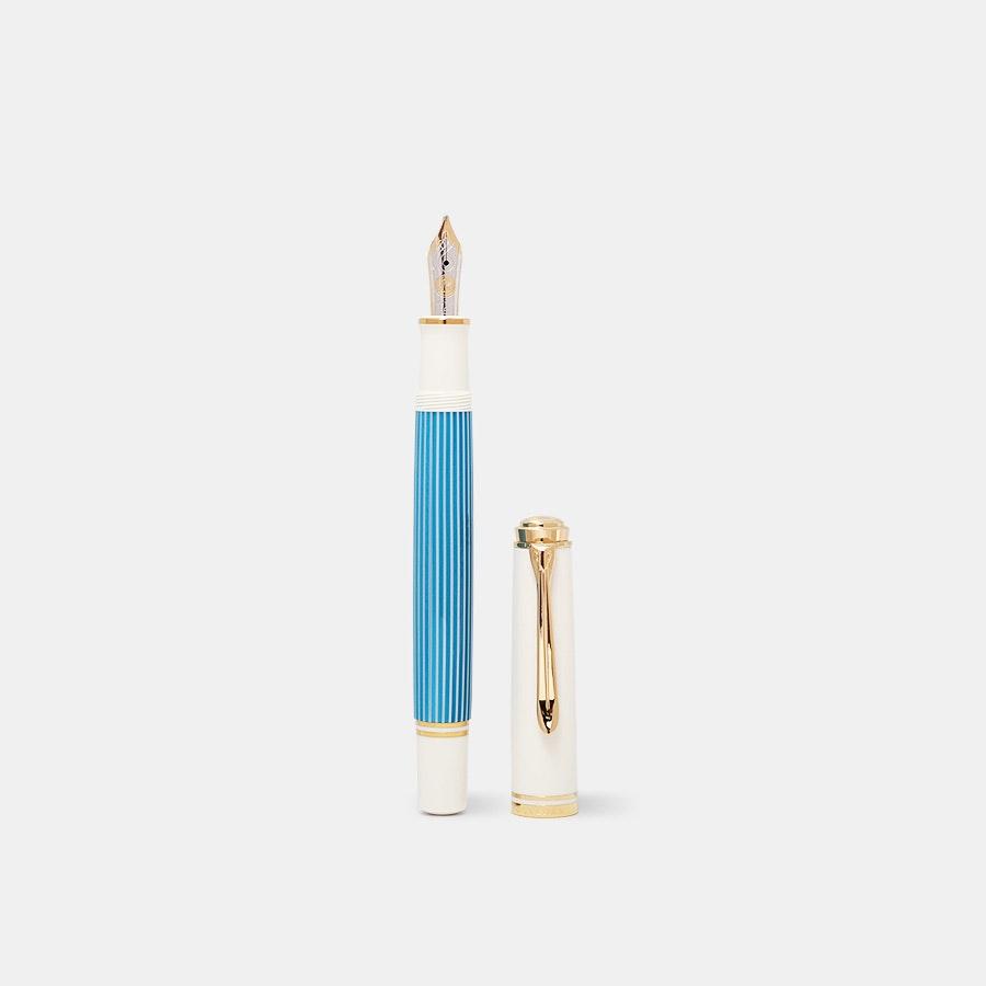 Pelikan Souverän M600 Turquoise-White Fountain Pen