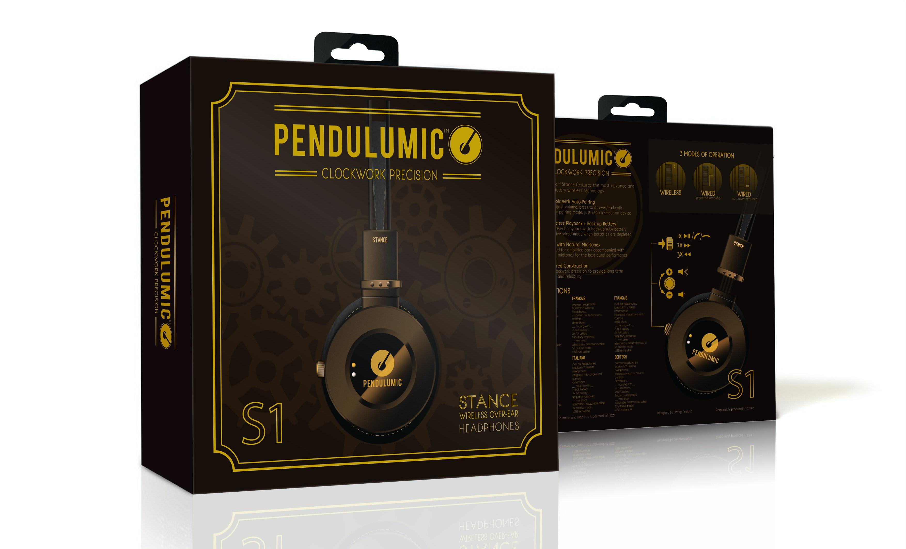 Pendulumic STANCE S1 Bluetooth Headphones